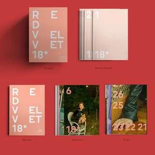 Red velvet 2018 season greeting