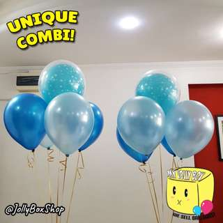 2 sets of balloons combination with Helium | Perfect for Birthday Party, Weddings, Proposals, Corporate Events