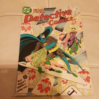 (A102) (1986) DC DETECTIVE COMICS BATMAN #569