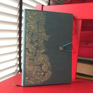 A5 Art Embroidery Notebook from The Art Faculty by Pathlight