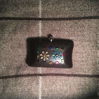 Mini embellished clutch