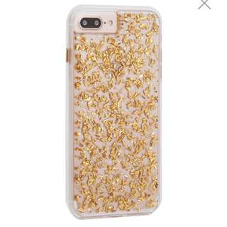 Case-Mate iPhone X Case 24 Karat - Gold