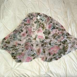 (NEW) Floral Kimono