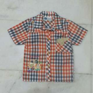 Boys Checkers Shirt For Age 2-3