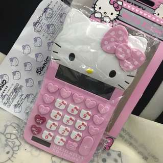 Hello kitty Big Caculator