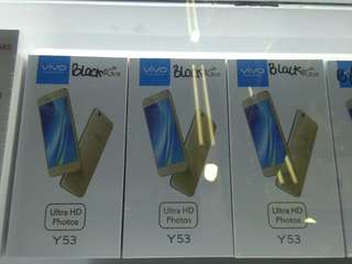 Vivo y53 black dan gold