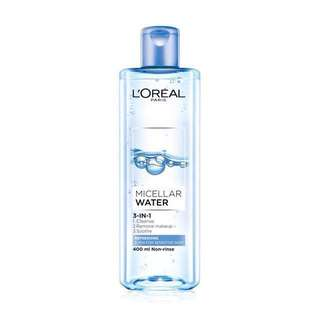 L'ORÉAL Micellar Water 400ml (In-Stock)