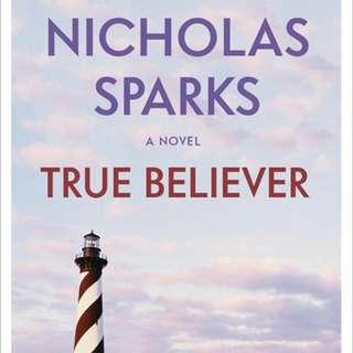 eBook - True Believer by Nicholas Sparks