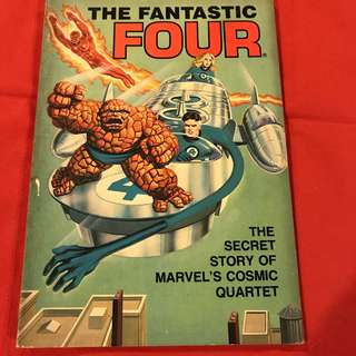 The Fantastic Four: The Secret Story of Marvel's Cosmic Quartet (1981)  #comics