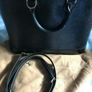 Lv Alma Epi Leather Premium