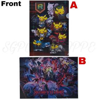 A4 CLEAR FILE  [RAINBOW ROCKET] - POKEMON CENTER EXCLUSIVE