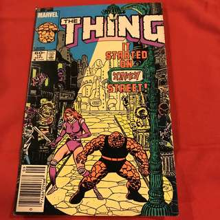 The Thing - September 1984 #comics