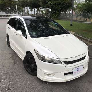 HONDA STREAM FUJITSUBO EXHAUST RENT UBER GRAB CHEAP
