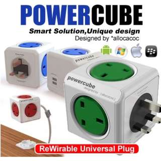 Power  Cube charger and socket