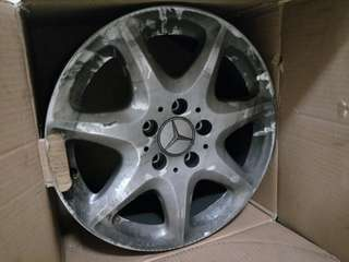 """Stock 16"""" 5x112 rims for sale"""