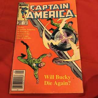 Marvel Comics Captain America 297 Sept 1984