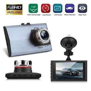 3.0 Auto Car DVR Dash Cam Video Camera LCD Recorder G-Sensor IR Night