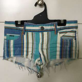 Billabong Colourful Mini Shorts
