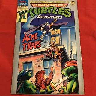 TEENAGE MUTANT NINJA TURTLES ADVENTURES #22 JULY 1991 ARCHIE COMICS