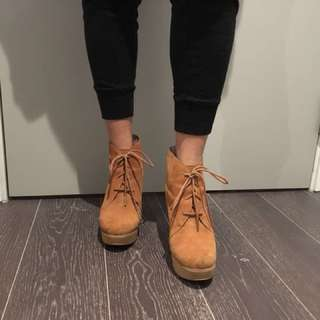 Michael Kors Suade Ankle Booties