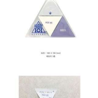 [PREORDER] PRODUCE 101 OFFICIAL GOODS: MEMO