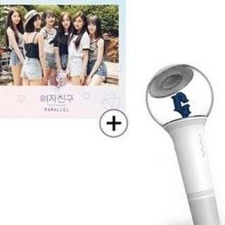 PREORDER - PROMO] GFRIEND SET Parallel love ver + Gfriend Official Light Stick