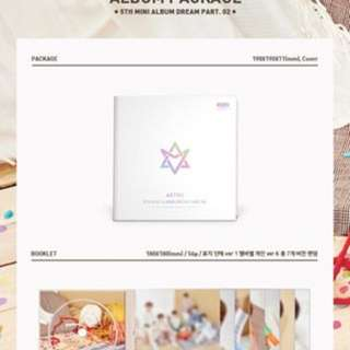 [PREORDER] ASTRO - DREAM PART 02 - LIMITED EDITION