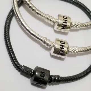 OHM Beads 蛇鏈 (可串P) and Pandora 蛇鏈