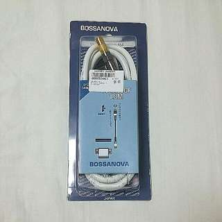 New Bossanova TV Cable 1.8m Japan