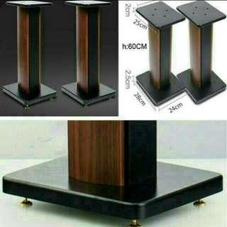 Wooden floor Speaker Stand - 19 x 25 x hight60cm