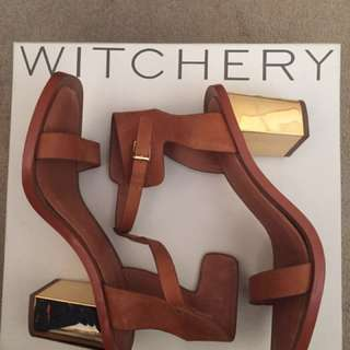 Witchery Sandals Size 40
