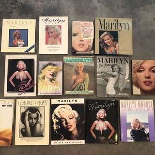 Marilyn Monroe Collectors Books