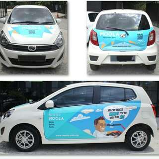 Mobile outdoor advertising