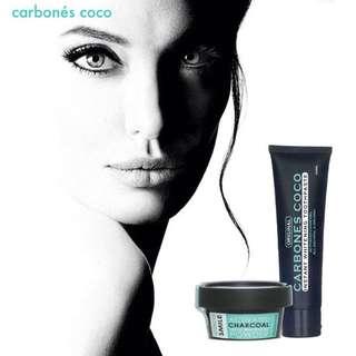 Carbones coco Teeth whitening combo