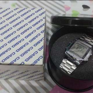 Jam Casio DB-360 Silver Original