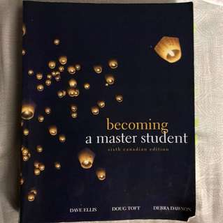 Becoming a Master Student Textbook