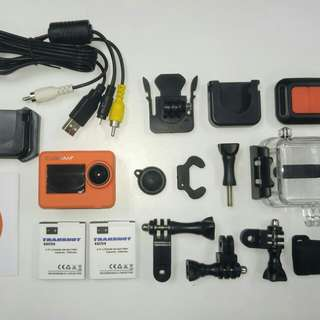 Action Cam with GOPRO CHIPSET (Cubicam+ Wifi )