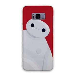 Baymax Red Samsung Galaxy S8 Plus Custom Hard Case