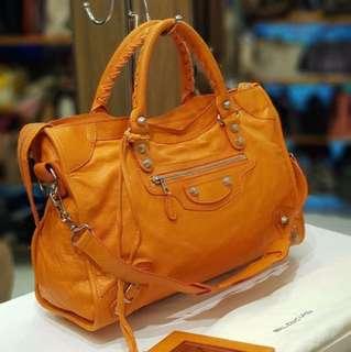 Balenciaga The City Orange 2013
