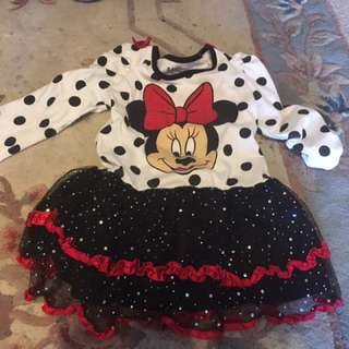 6 year old Minnie Mouse dress