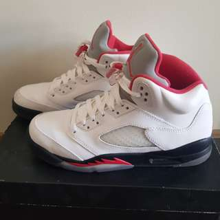 Jordan 5 youth limited edition Size 7y