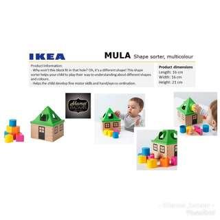 IKEA MULA Shape Sorter