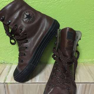 Original Converse Leather Boots
