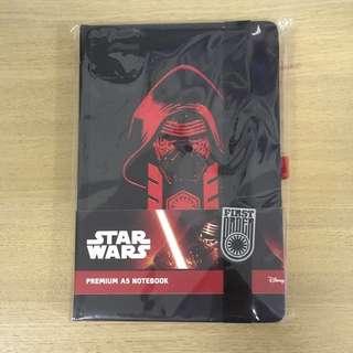 [BRAND NEW] Star Wars First Order Kylo Ren Premium Notebook