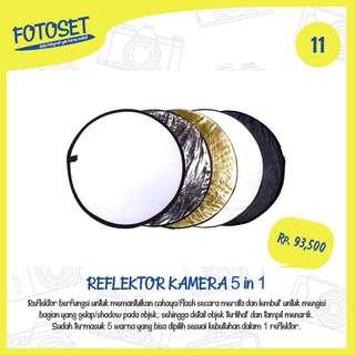 Reflektor Kamera 5 in 1