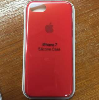 iPhone 7 / 8 Silicone Case PRODUCT Red