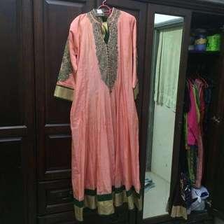 Deepavali  special Long Panjapi suit 👗