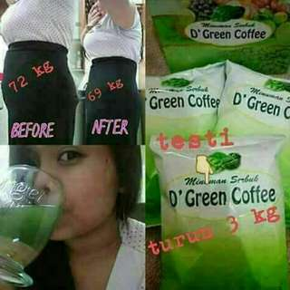 D'green coffe