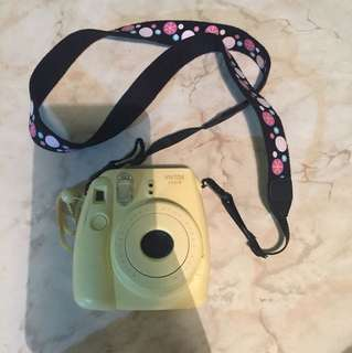 Instax mini 8 with strap