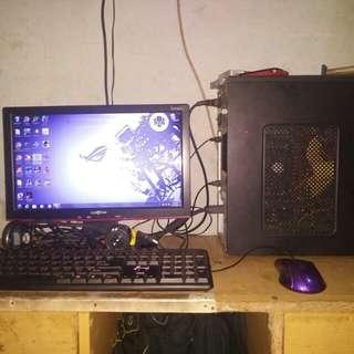 Pc gaming 1set murah